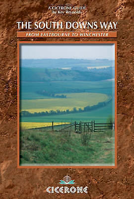 1 of 1 - The South Downs Way: Described East-west and West-east: Eastbourne to Winchester
