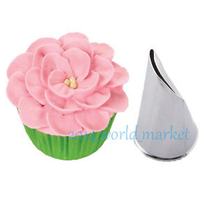 Cake Decorating Petal Tips : New Flower Petal Icing Piping Nozzle Cake Decorating ...