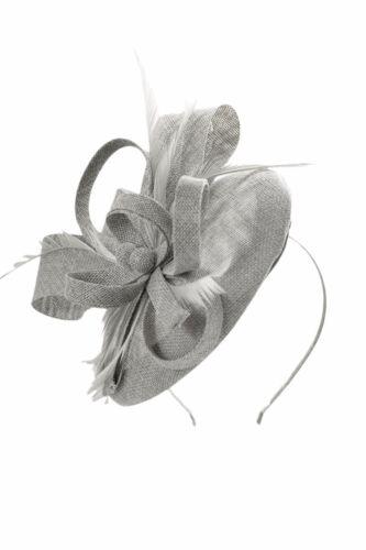 Finecy In-femmes /& femmes mariage cocktail Race Bandeau Fleur Chapeau Bibi