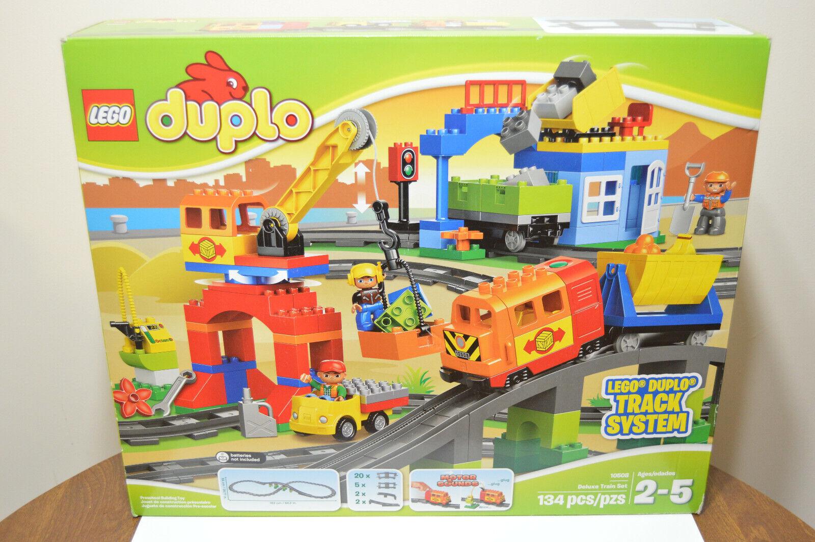Nuevo Lego Duplo Trenes De Lujo Conjunto (10508) 134 piezas retirado