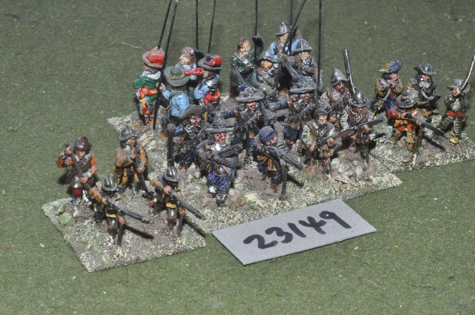 25mm ECW   parliament - pike & shot 24 figures - inf (23149)