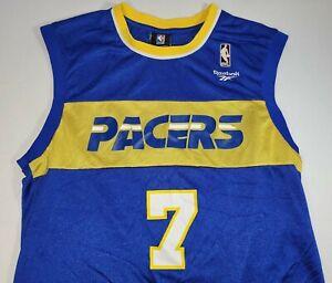 Reebok Hardwood Classics Jermaine O'Neal Indiana Pacers Jersey size M
