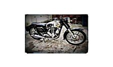 1956 norton es2 Bike Motorcycle A4 Photo Poster
