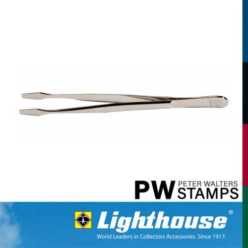 Tongs 12cm Straight Spade Lighthouse Stamp Tweezers