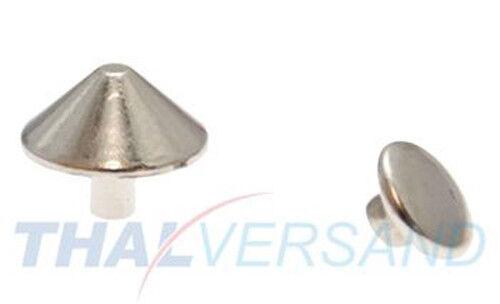 10 Stück Ziernieten Spike 10mm x 5mm #15 Motivnieten Ledernieten Zierniete Niete