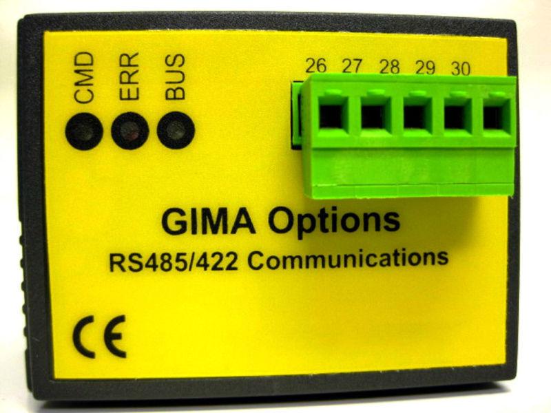 SIMPSON ELECTRIC GIMA RS485 RS422 MODBUS OPTION MODULE