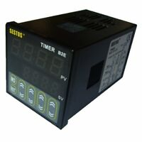 Easy To Operate Digital Display Twin Timer & Time Delay Relay Switch 12-24v