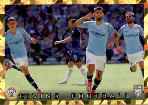 Manchester City FC Living Football Panini Fifa 365 2020 Sticker 58