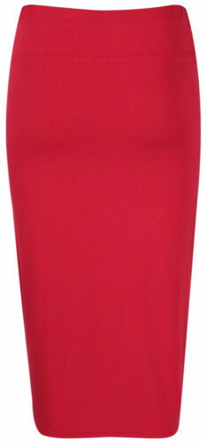 Red Size 14 B You Tube Midi Skirt