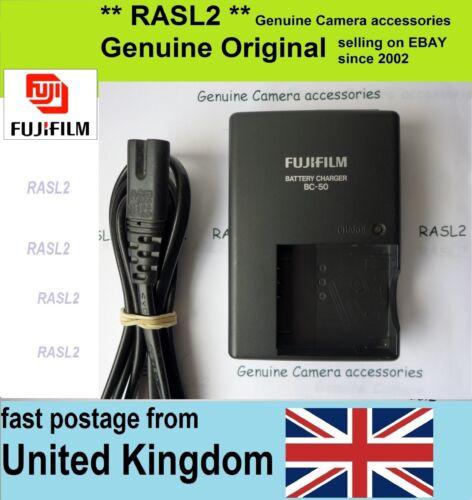 Cargador Original FUJIFILM BC-50 F600EXR F605EXR F550EXR F505EXR X10 F60xd F72xd