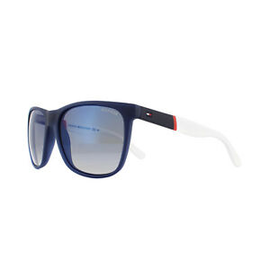 1bb3703041 Tommy Hilfiger Sunglasses TH 1281 S FMC DK Blue Red White Blue Sky ...