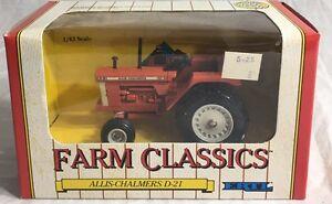 Allis Chalmers D21 Series II Turbocharged Diesel Tractor 1/43 Farm Classics