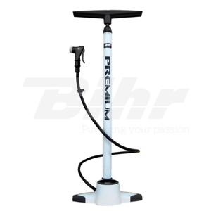 Pompa Aria Manuale per  Bici Raccordi Presta Schrader 18bar Manometro Tubo Ø32mm  garantía de crédito