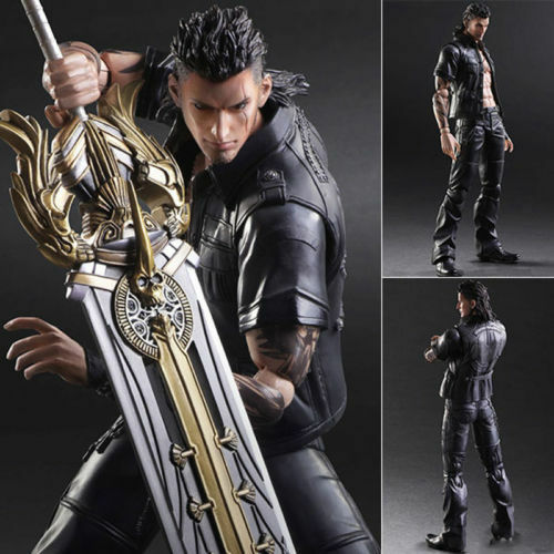 Play Arts Kai Final Fantasy XV Gladiolus Amicitia Action Figures Collection Toy