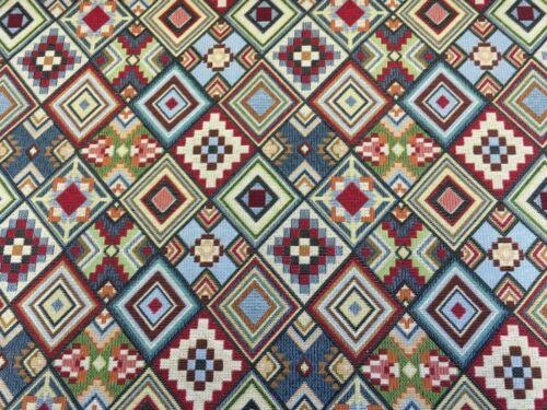 Diseñador poco Azteca Decoración Tela de tapicería en Multicolor
