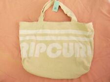 NEW RIP CURL FLASHBACK BEACH BAG TOTE Y469 Strong Canvas Big & Beautiful!