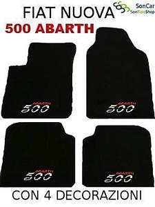 FIAT PUNTO SPORTING 2° SERIE TAPPETI AUTO 4loghi+4blok
