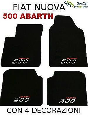 FIAT PUNTO,1^ serie,TAPPETI-tappetini AUTO+4loghi+4blok