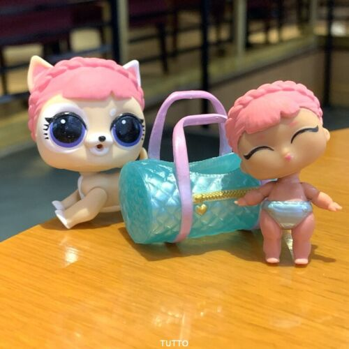 LIL Ice Barker toy Genuine Lol Surprise Dolls ICE BARKER FUZZY PETS Makeover S5