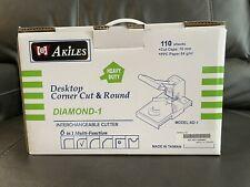 New Listingakiles Diamond 1 Desktop Corner Cut Amp Round Model Ad 1