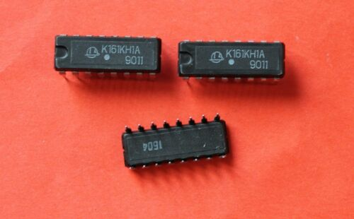 Microchip USSR  Lot of 4 pcs K161KN1A IC