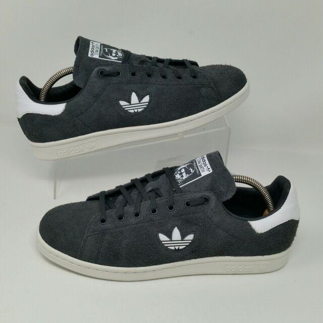 détaillant en ligne 35aac 35eb4 adidas Originals Stan Smith Suede Mens Grey SNEAKERS Shoes Size 9 B37902