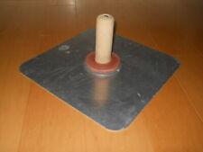 Aluminum Hawk For Masonry Drywall Sheetrock Plaster Mud Tray Trowel13x13