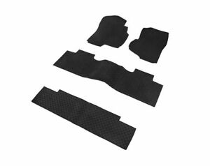 Heavy Duty Custom Fit Rubber All Weather Floor Mats Gmc