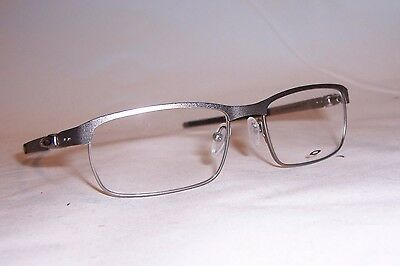 6d77aab2bd NEW OAKLEY EYEGLASSES TINCUP OX 3184 3184-04 SILVER 52mm RX AUTHENTIC 318404