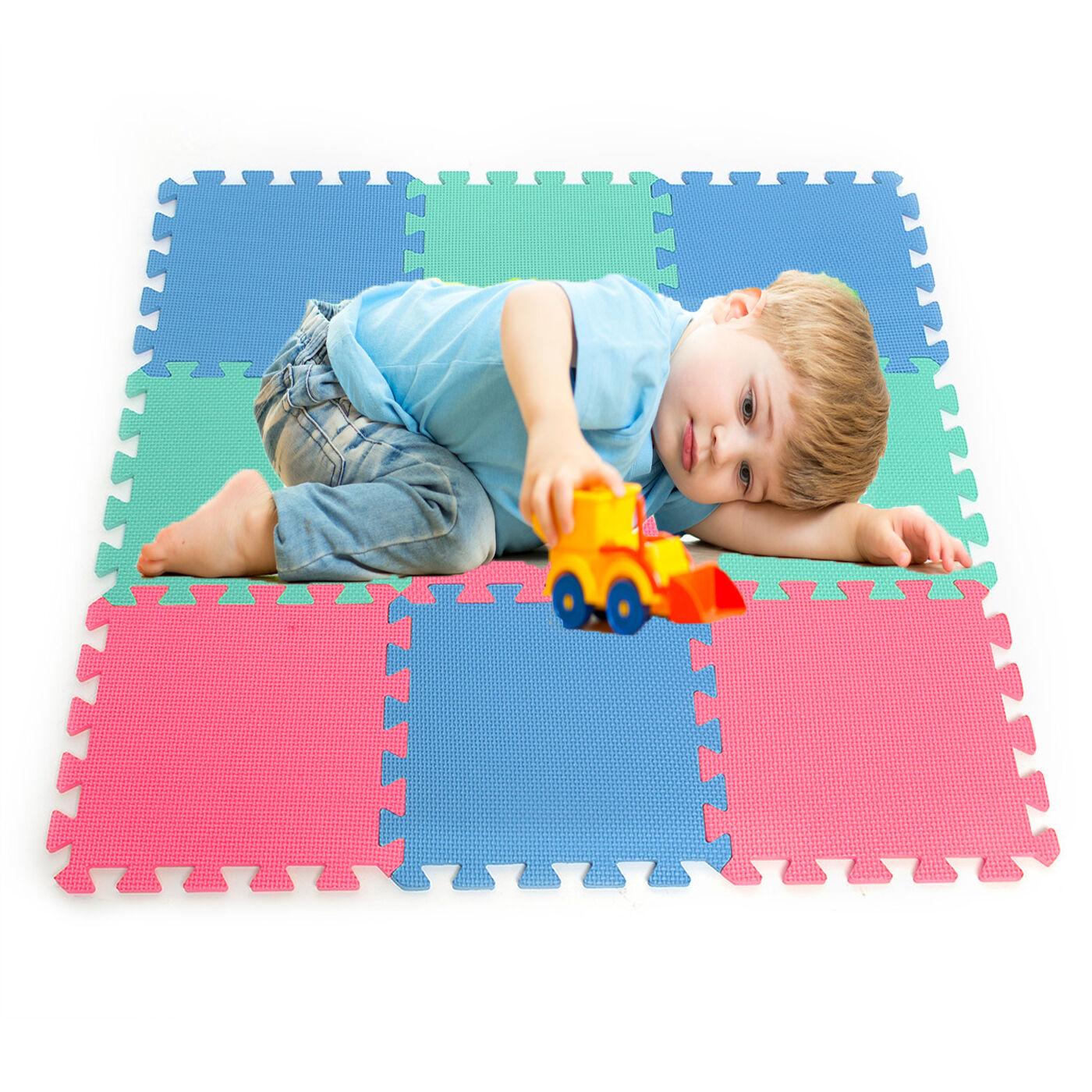 Doux gym eva interlocking mousse kids play tapis salle de gym Doux home office flooring tiles daf5ac