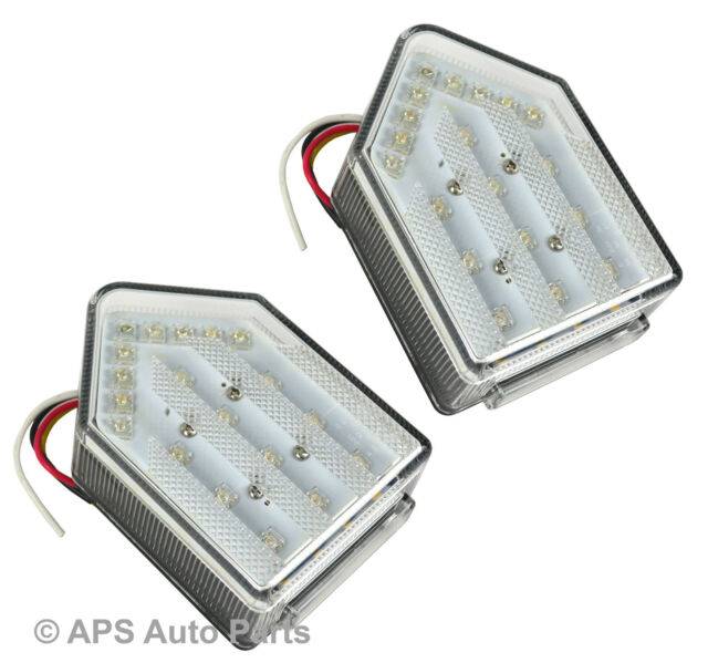 New 5 Function LED Rear Tail Trailer Car Caravan Lights Lamps Universal 12v x 2