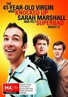 The 41 Year Old Virgin Who Knocked Up Sarah Marshall And Felt Superbad About It (DVD, 2011)