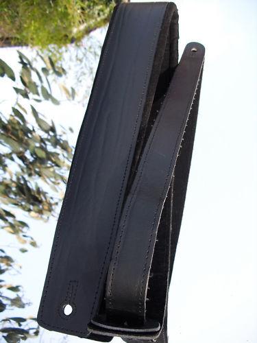 BULL MM GITARRENGURT Polster Gurt PROFI STAGE LEDER
