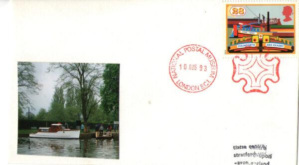 10 Août 1993 Canaux Couverture Nationale Musée Postal Croix De Malte London Ec1 Shs Soulager Le Rhumatisme Et Le Froid