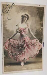 599-Antica-Cartolina-Colore-Walery-Parigi-Rose