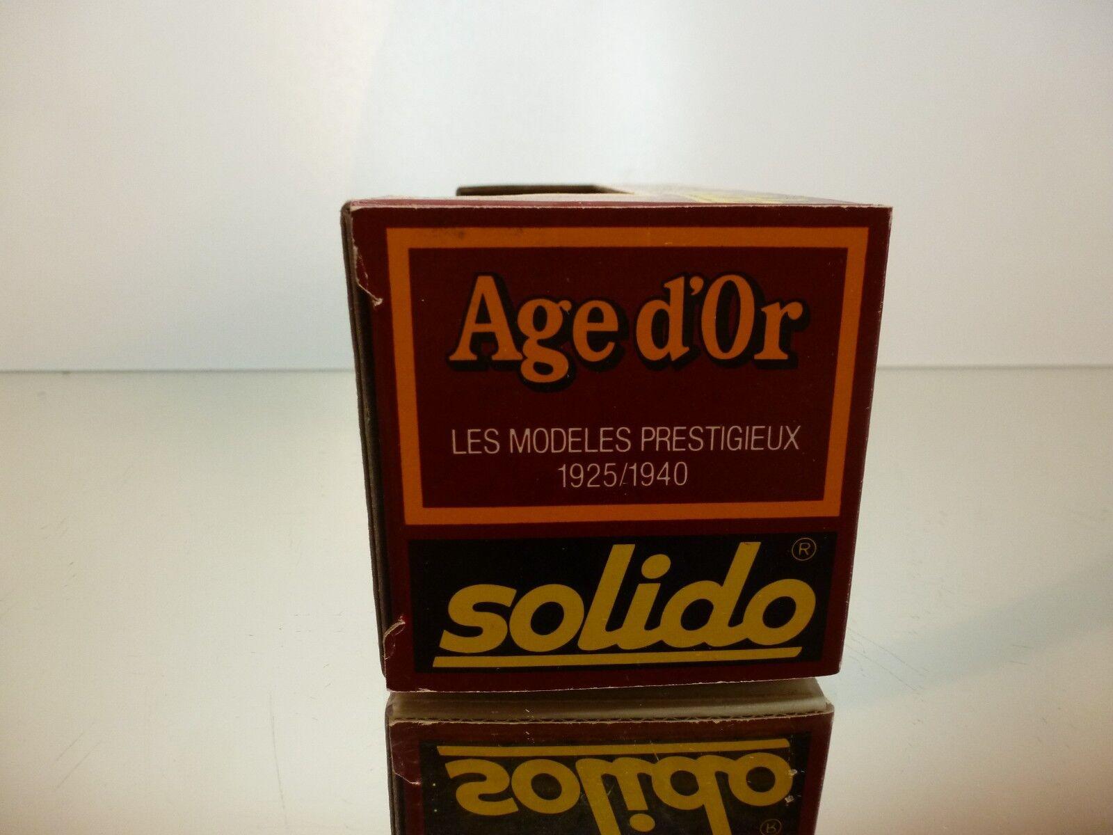 SOLIDO 32A CITROEN 15CV 1938 SAPEURS SAPEURS SAPEURS POMPIERS - RED 1 43 - VERY GOOD IN BOX 10339b