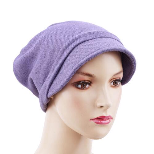 Slouch Beanie Bonnet Homme Femme Femmes Coton Doux Unisexe Plaine Beanie Hat S