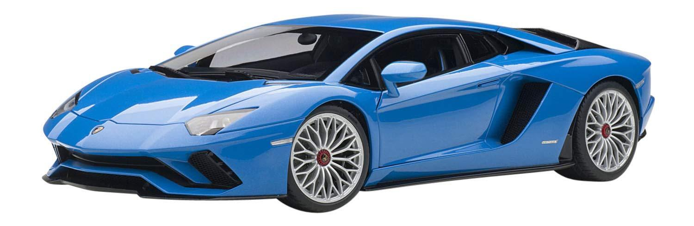 Autoart Lamborghini Aventador S Perla 1 18 blu 79134 EMS con seguimiento Nuevo