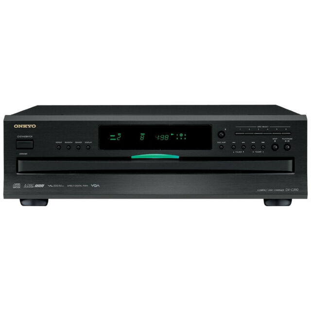 Onkyo 6-Disc Home Audio Carousel CD Changer Player with Remote *DXC390