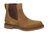 Timberland Earthkeepers Mens Chelsea Ankle Boots Brown Leather Slip On