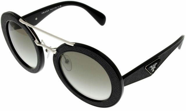 1c471ed1da7 PRADA Sunglasses Spr 15s Ornate 1ab 0a7 Black gray Gradient Women ...