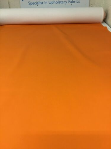 10m Job Lots Of Orange Faux Leather Free P+P