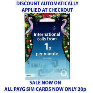 Carte Sim Cdiscount.O2 Payg International Sim Card Now Only 20p Discount Auto