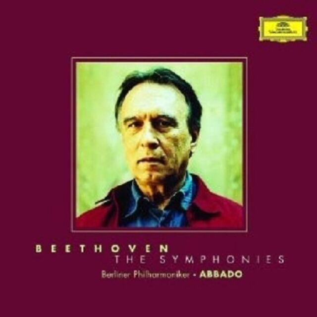 CLAUDIO/BP ABBADO - SÄMTLICHE SINFONIEN 1-9 (GA) 5 CD NEU