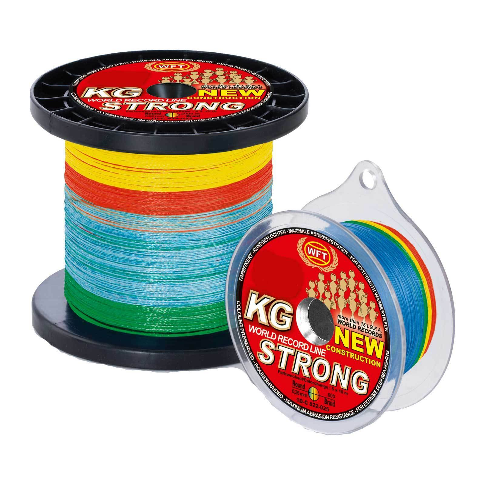 (0,21EUR M) Wft Geflocht. Spago - kg Strong Esatto 39Kg 0,25 360m Multicolor
