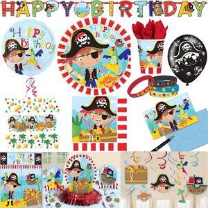 Kleiner pirat kindergeburtstag party deko dekoration for Party deko kindergeburtstag