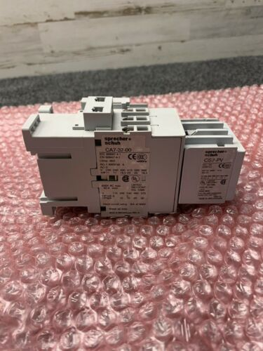 Used Sprecher+Schuh CA7-37-00 Contactor 600 Volts