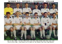 DUNDEE F.C.TEAM PRINT 1961-62 (SCOTTISH CHAMPIONS)