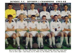 DUNDEE-F-C-TEAM-PRINT-1961-62-SCOTTISH-CHAMPIONS