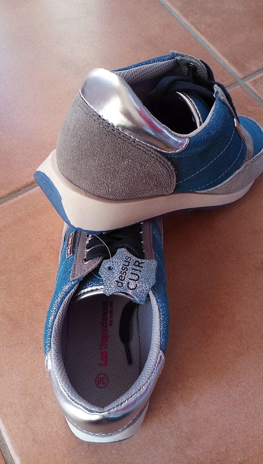 Les Tropéziennes par M. Belarbi Sportschuhe Echt Leder Sneaker Schuhe Sportschuhe Belarbi Gr 38 NEU 5206ae
